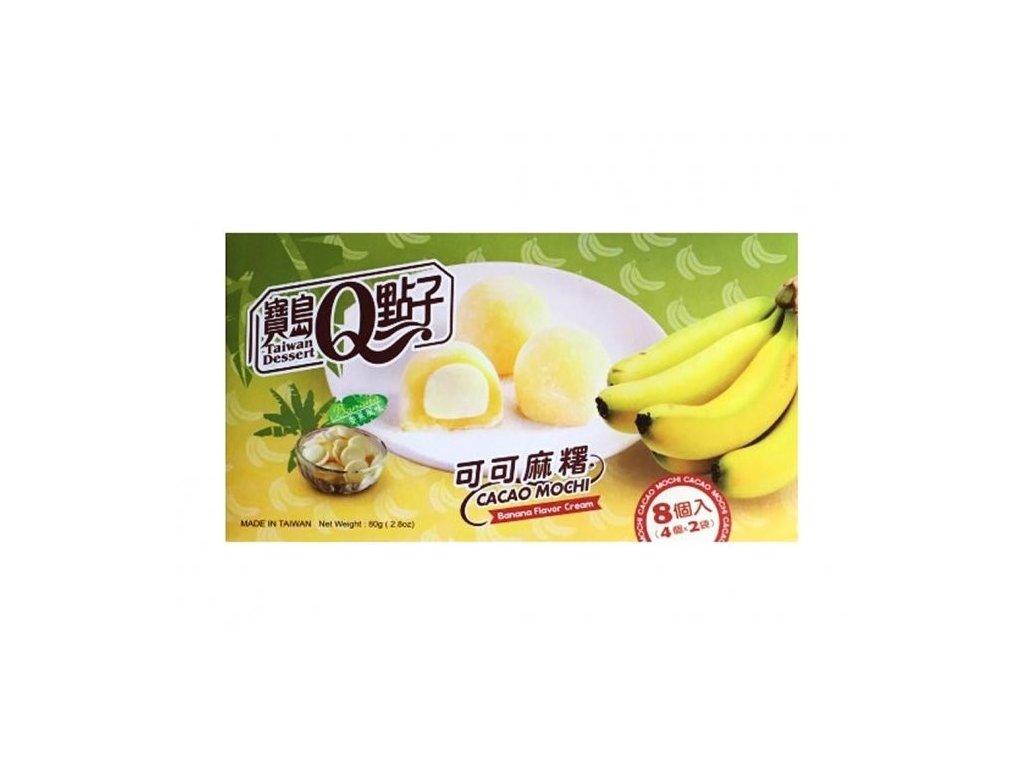 q mochi kakao a banan 80g