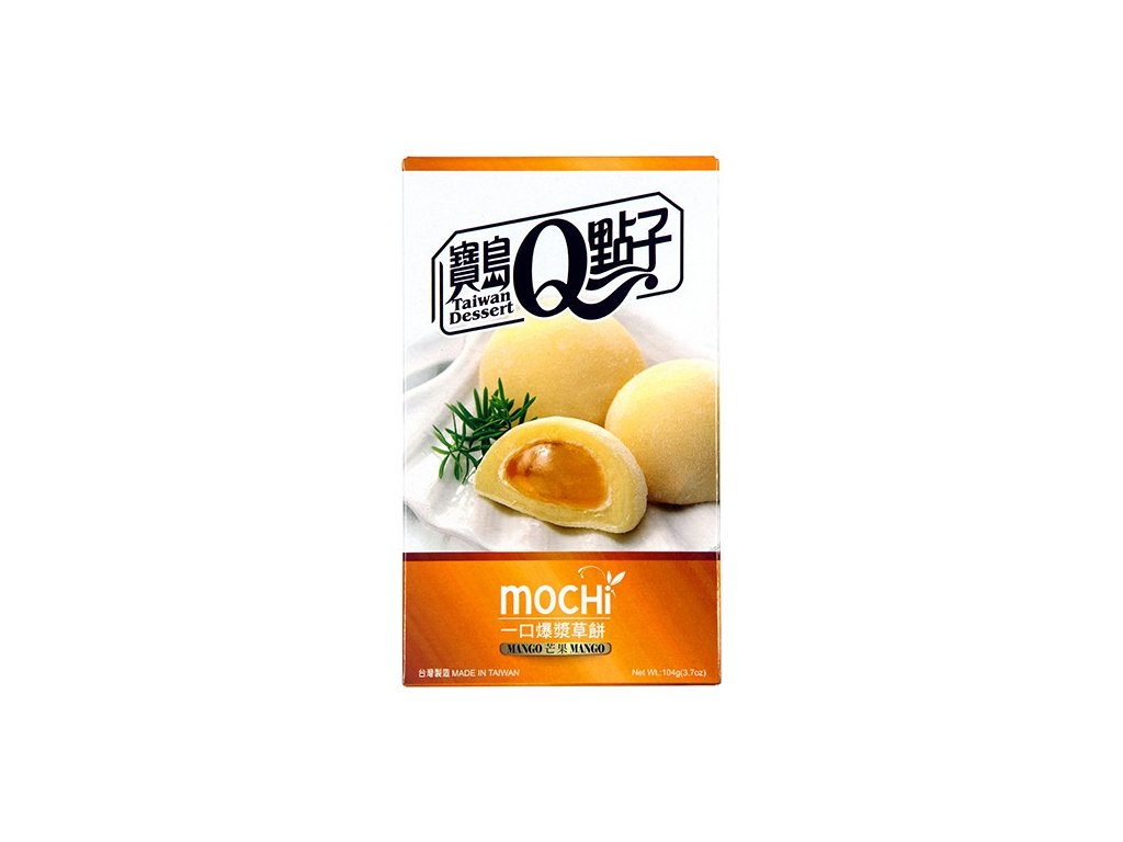q mochi mangove ryzove kolacky 104g