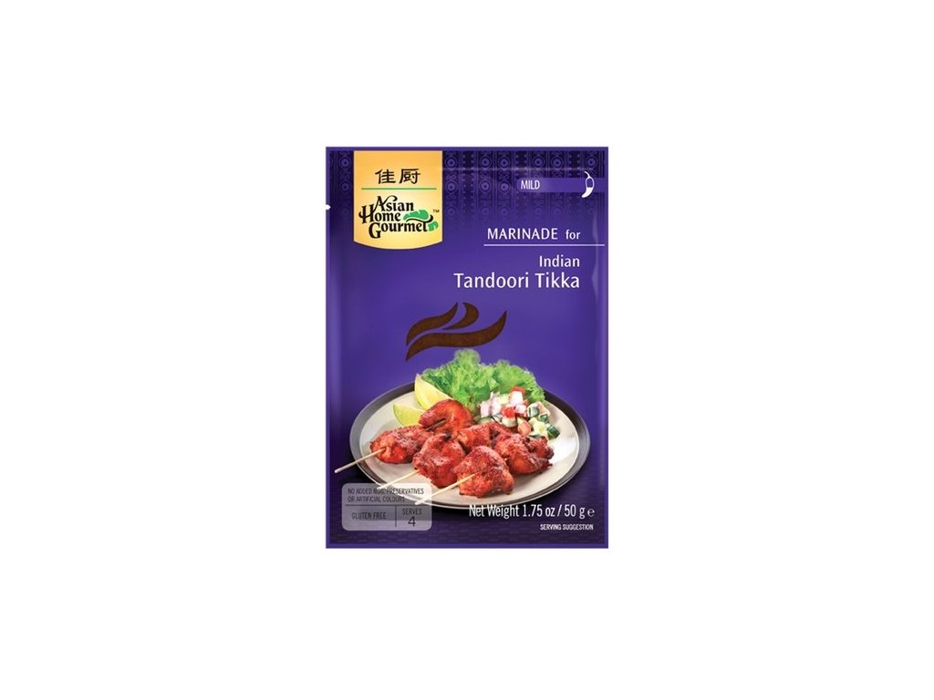 indicke tandoori tikka pasta asian home gourmet 50g