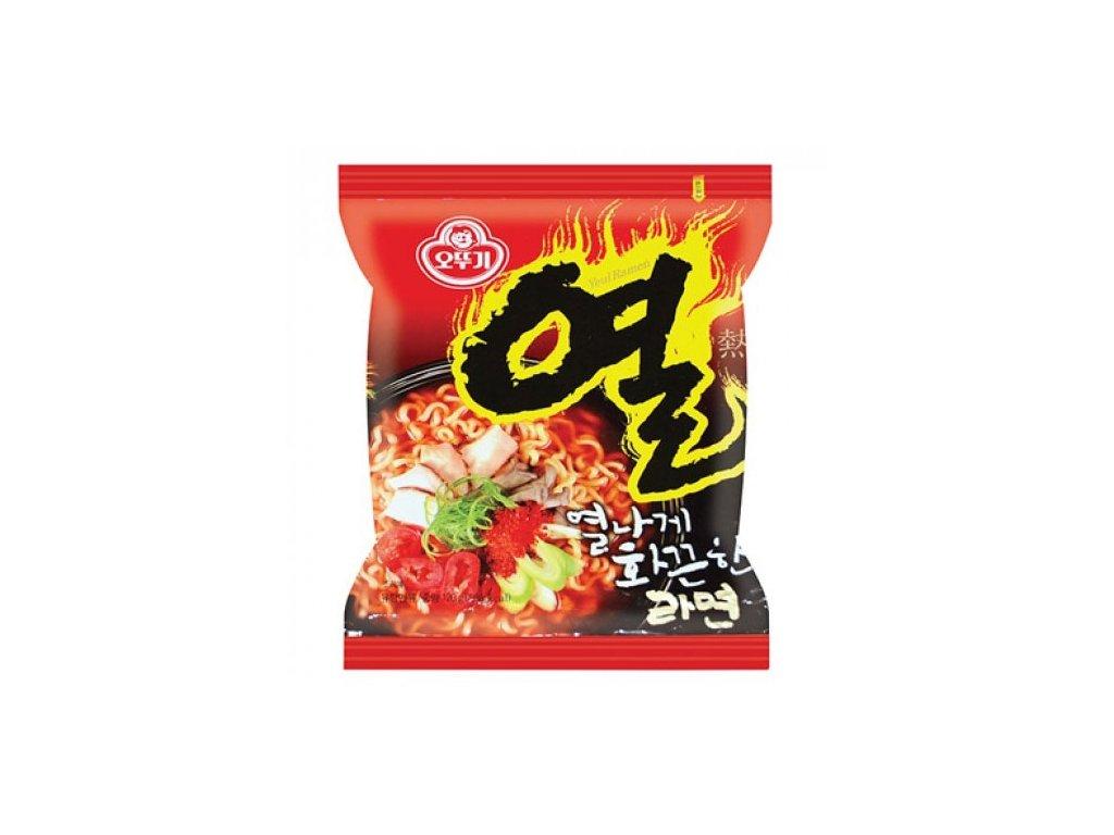 ottogi yeul ramen korejske instantni nudle s prichuti chilli 120g