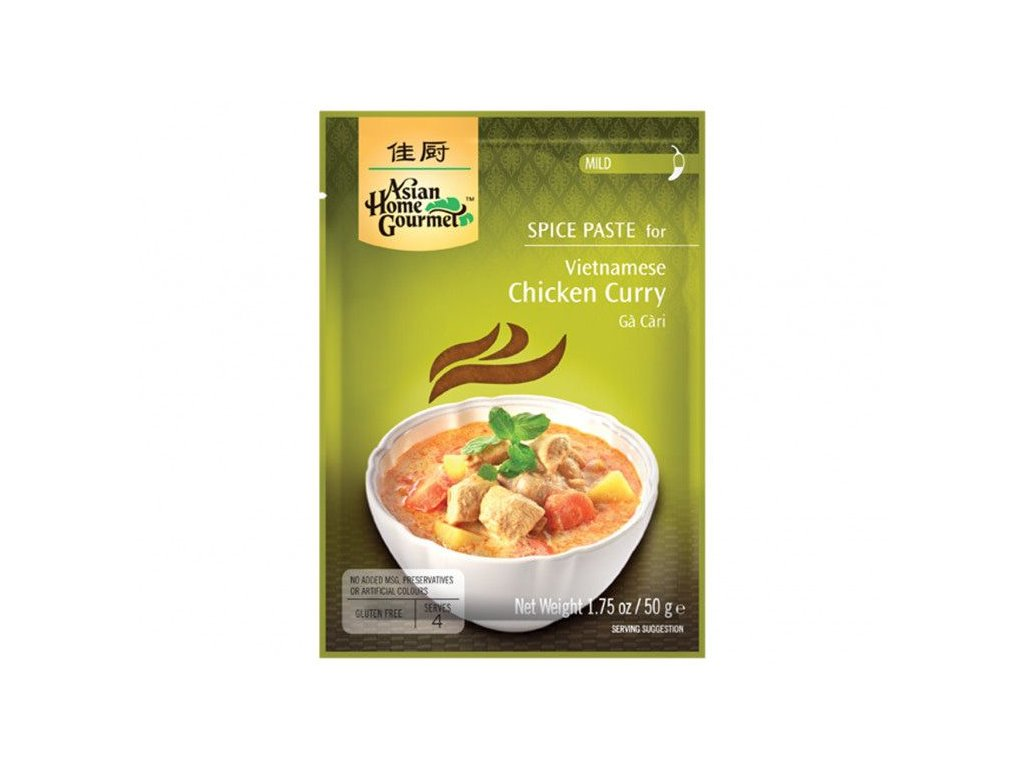 vietnamske kureci kari 50g asian home gourmet