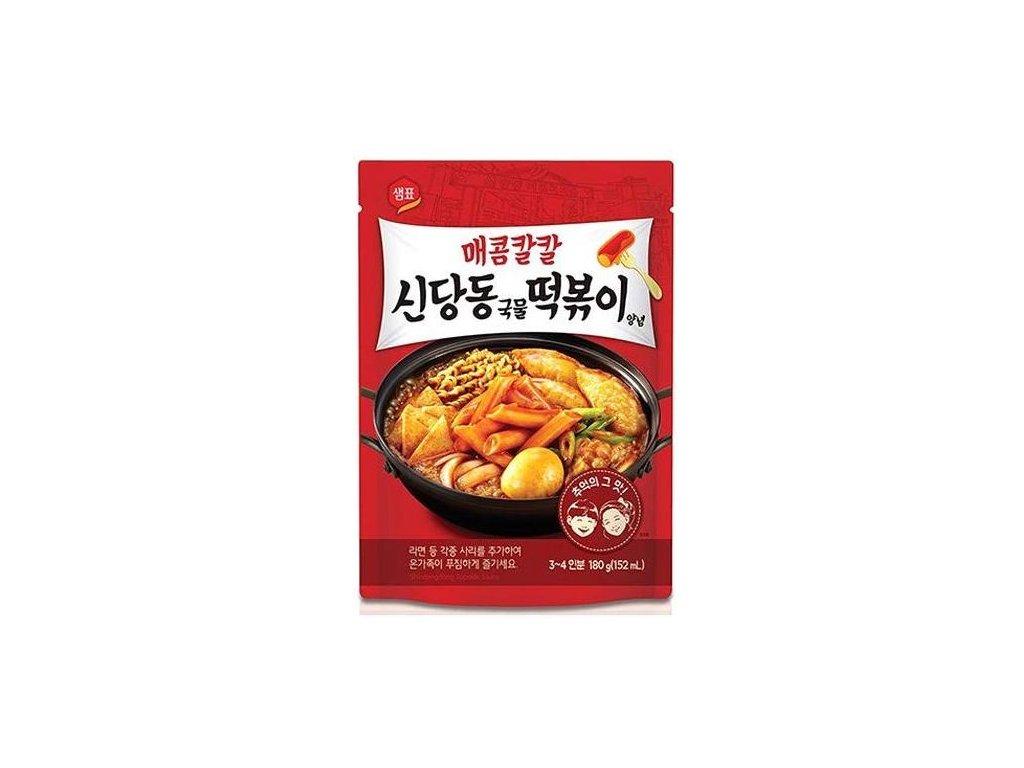 shindangdong topokki korejska sladko paliva omacka 180g