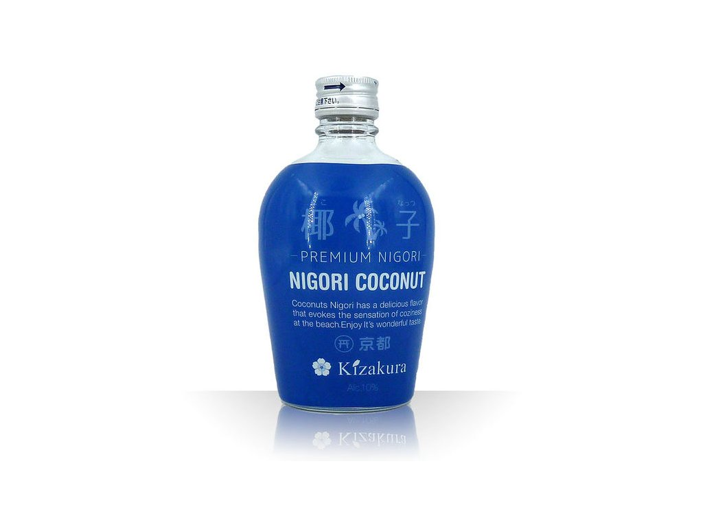 kizakura japan sake coconut nigori 10 vol 300ml