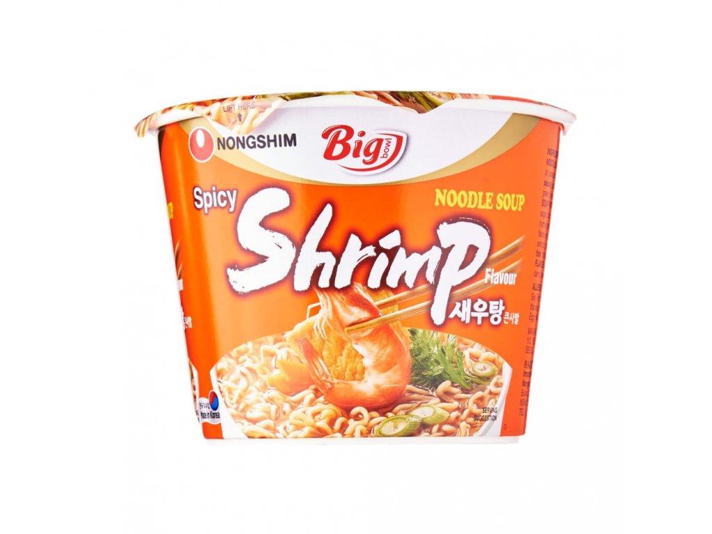 NongShim instantní nudlová polévka shrimp Big Bowl 115g