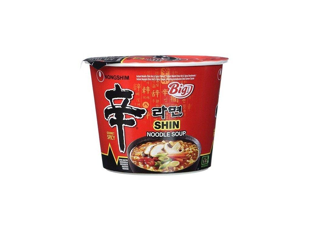 NongShim instantní nudlová polévka Shin Big Bowl 114g