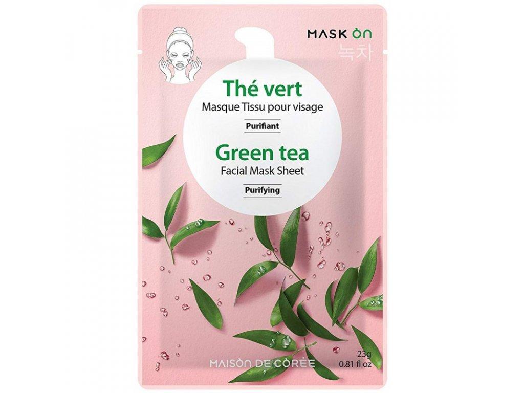 Pleťová maska Green tea MAISON DE CORÉE 23g