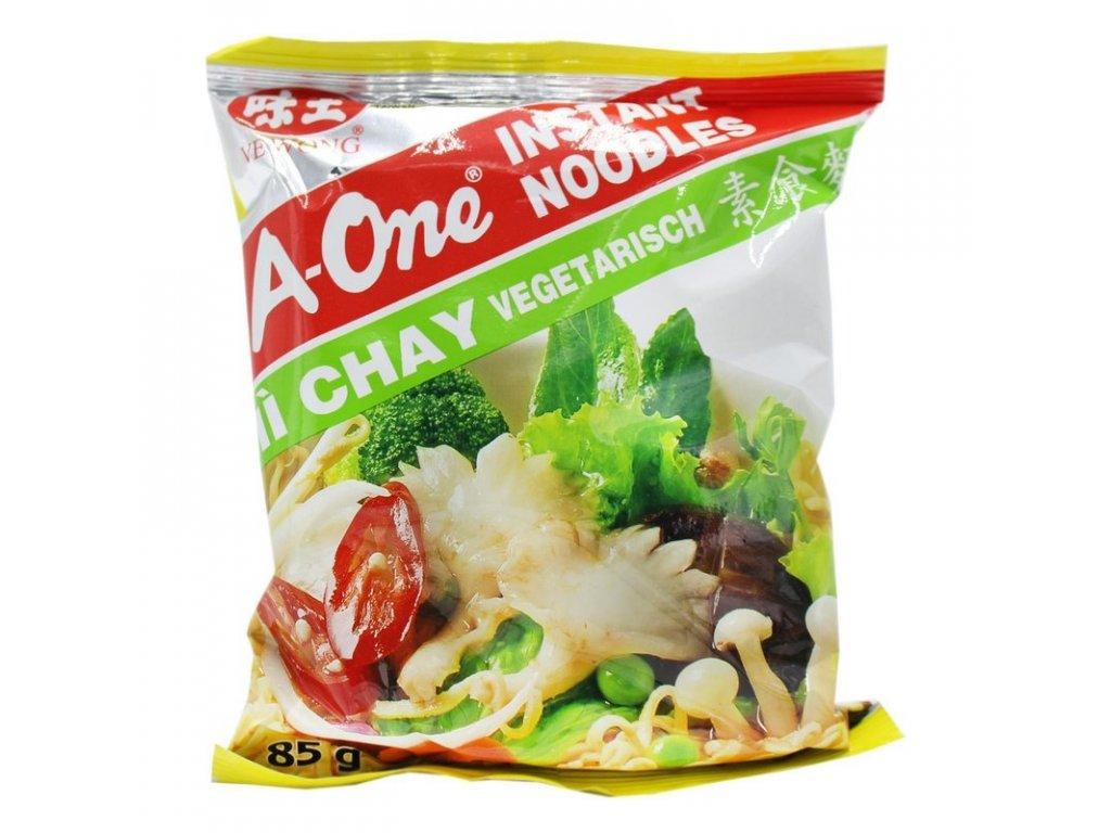 A-One instantní nudlová polévka s zeleninovou příchutí 85g