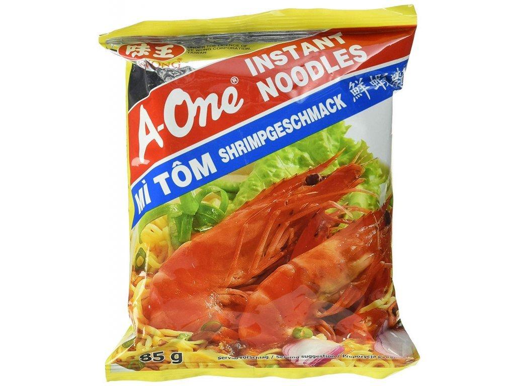 A-One instantní nudlová polévka s krevetovou příchutí 85g
