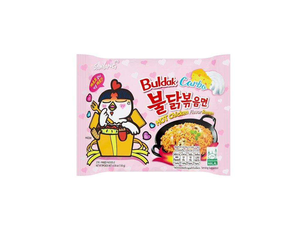 Samyang instantní nudlová polévka pálivá Hot Chicken Carbo 130g