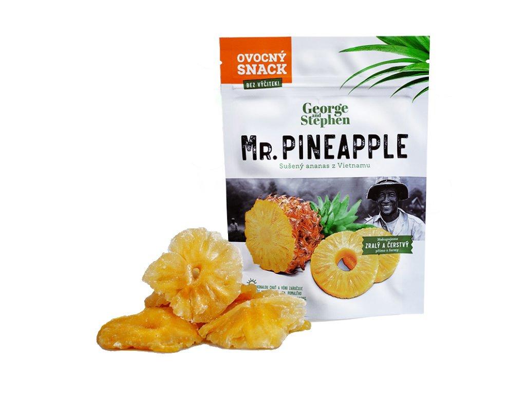 Mr. Pineapple sušený ananas 40g