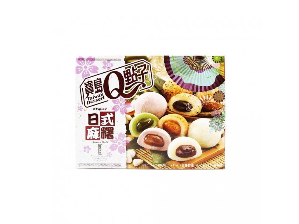 q mochi mix druhy 600g