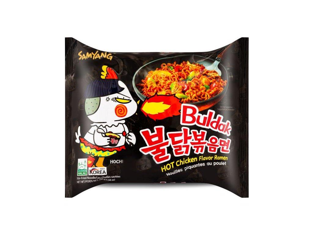 Samyang instantní nudlová polévka pálivá Hot Chicken 140g