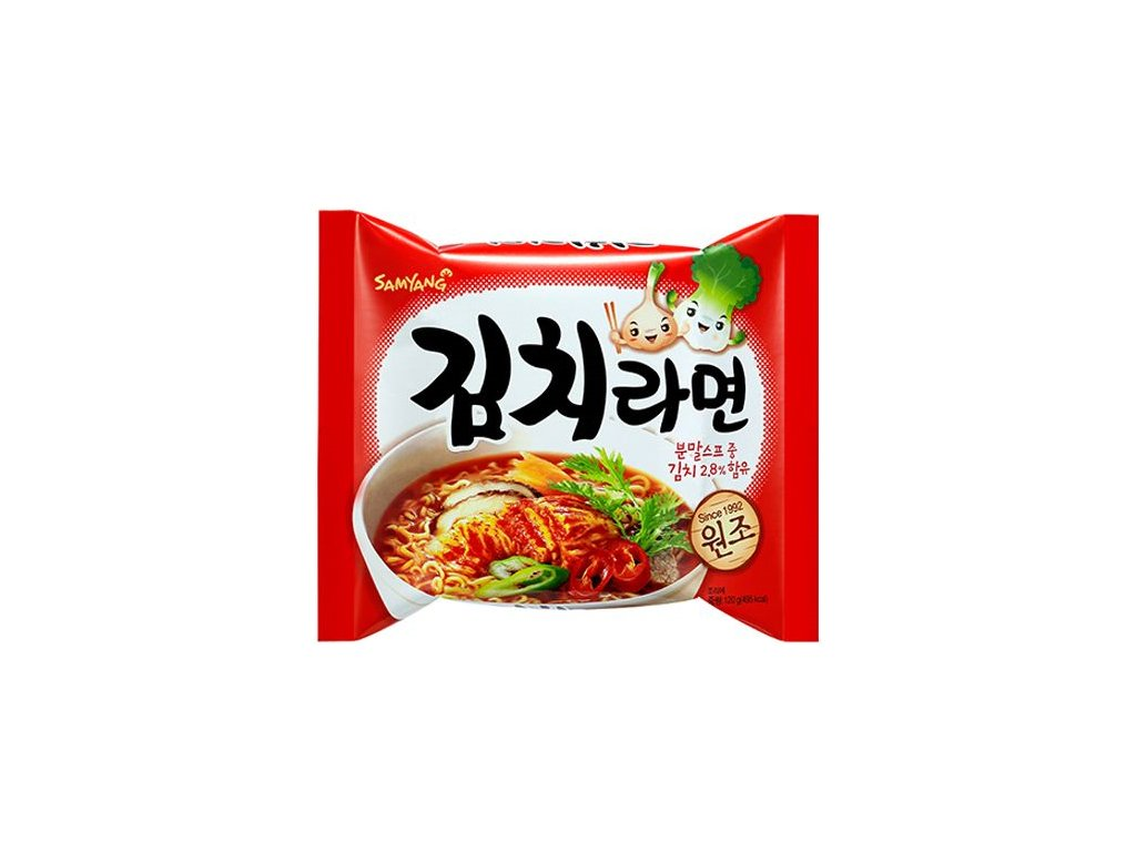 samyang instatni nudle 120g kimchi