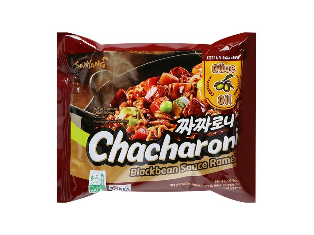samyang instantni nudlova polevka se sojovou pastou ke smazeni chacharoni 120g