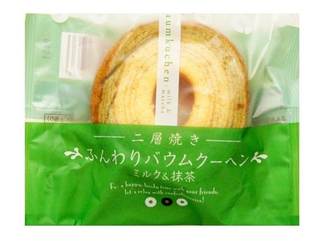 15957 taiyo food milk matcha cake 75g