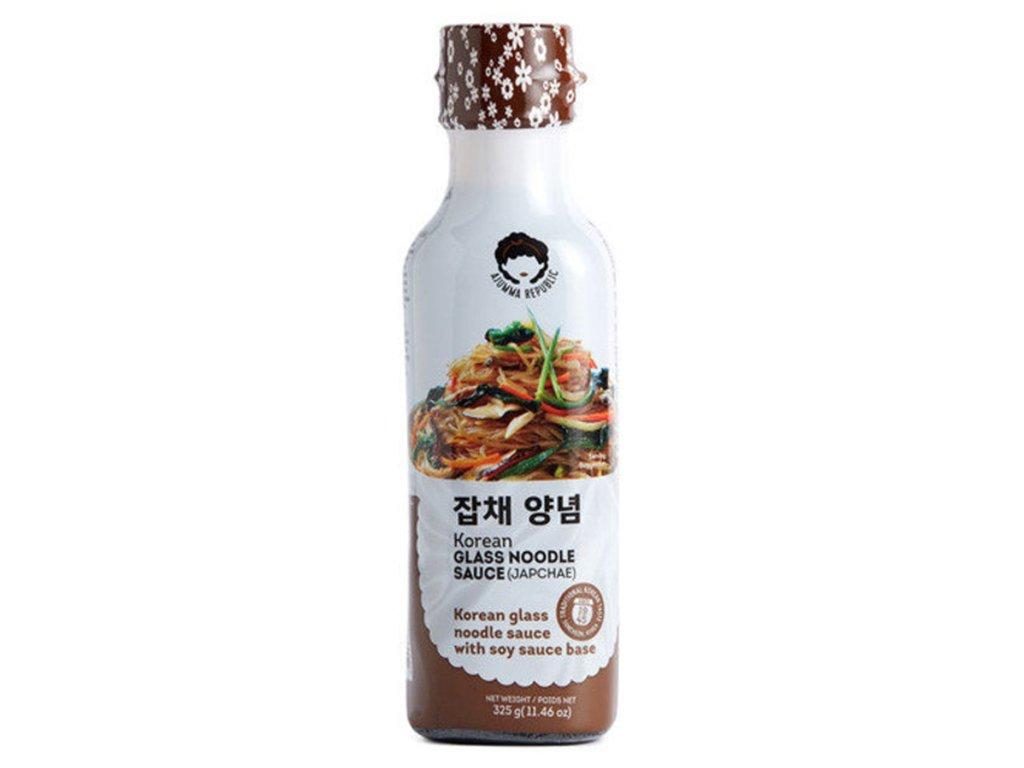 glass noodle japchae sauce 325g ajumma republic