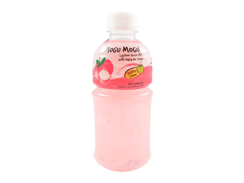 Mogu Mogu žvýkací nápoj liči 320 ml