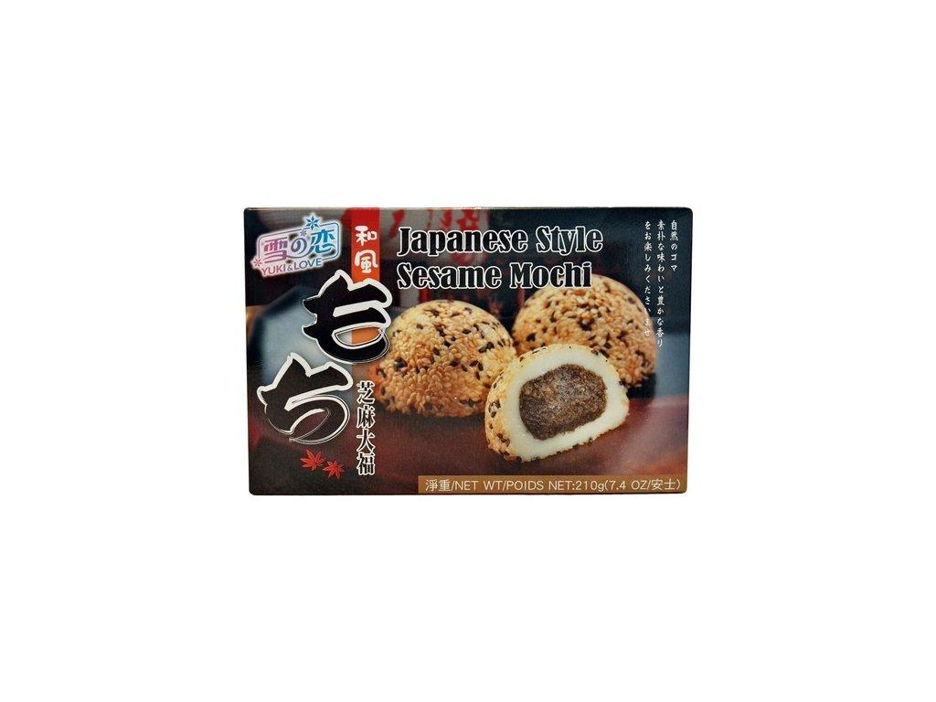 yuki&love mochi sesame 210g