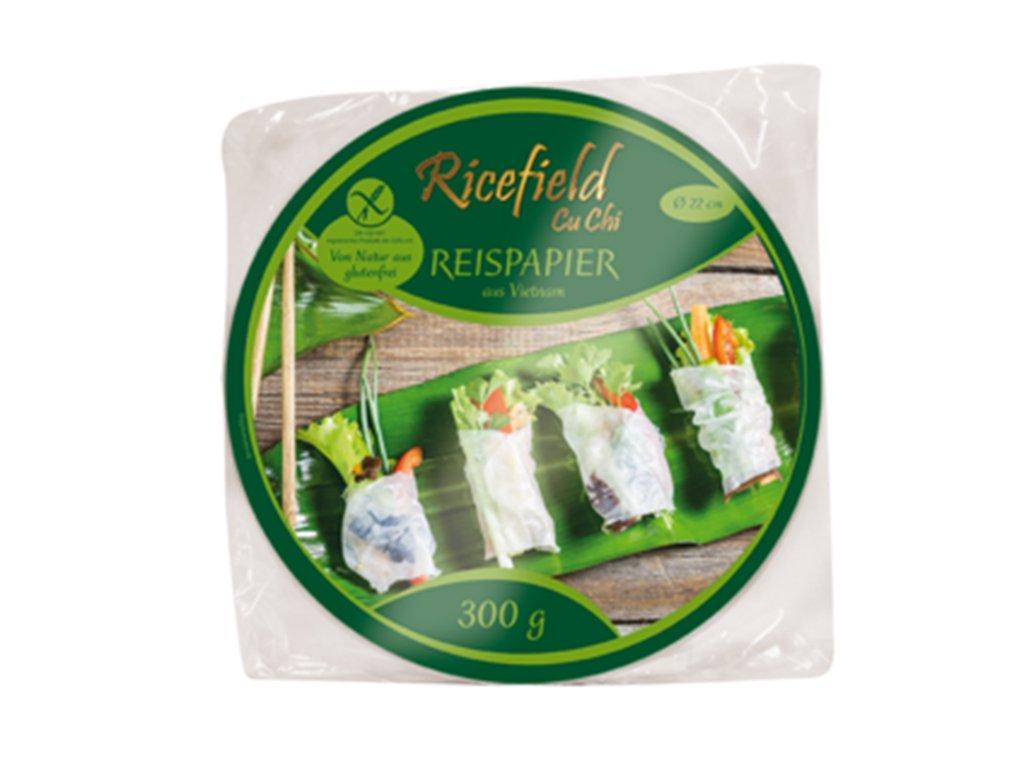 Ricefield ryzovy papir kruh 22cm 300g