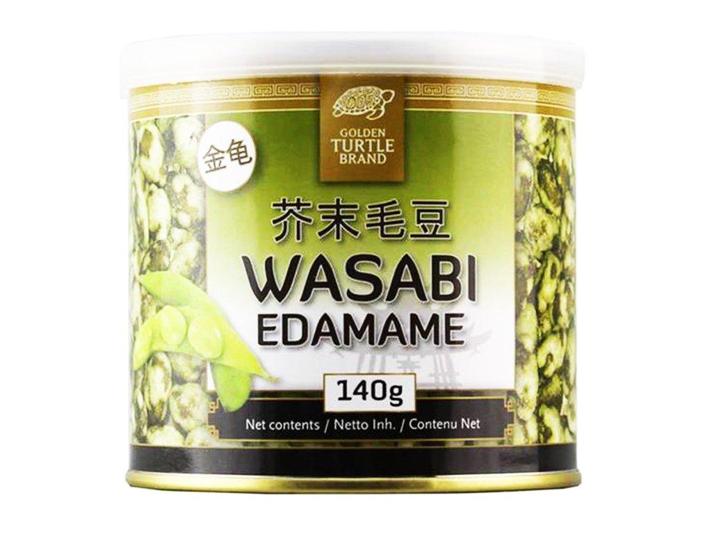 golden turtlw edamame ve wasabi 140g