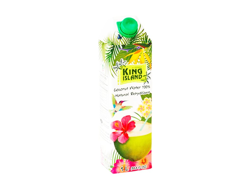 king island kokosove mleko 100% 1L