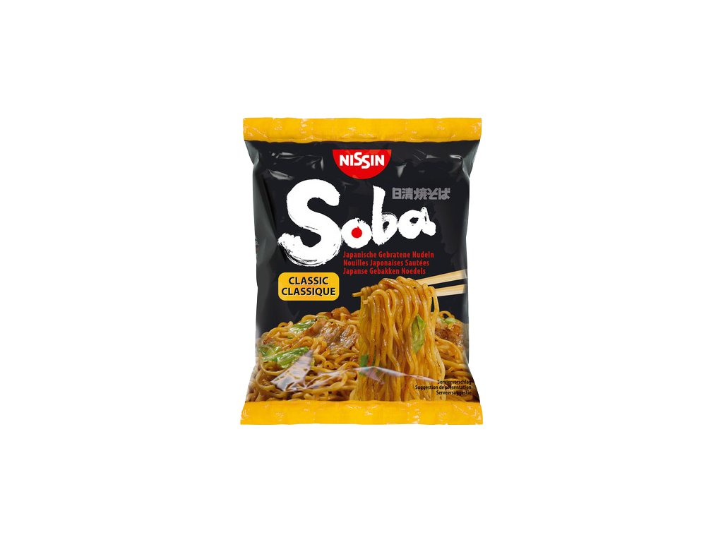nissin soba classic nudle 109g
