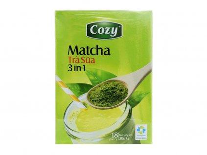cozy matcha milk tea 3in1