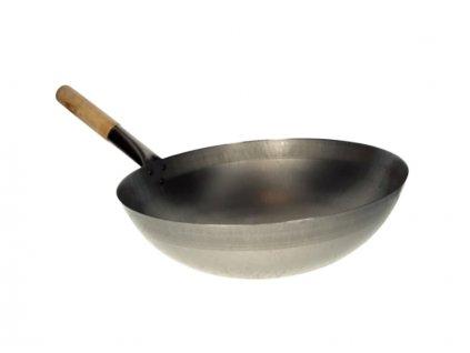 1910 klasicky plechovy wok s kulatym dnem 33cm preview copy