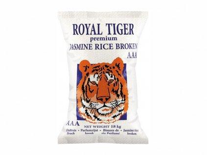 royal tiger broken jasmine rice fragrant rice 18kg