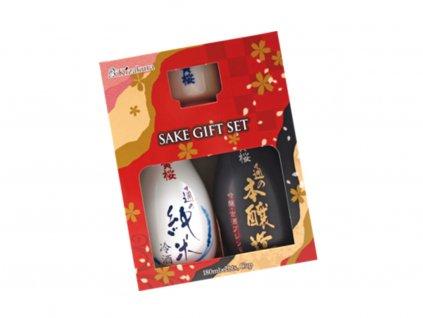 KIZAKURA Sake Set (Junmai Honjozo) 360ml