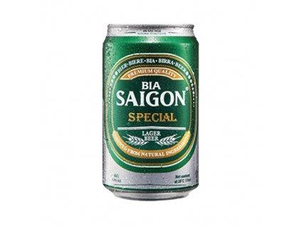 saigon special pivo plech 330ml