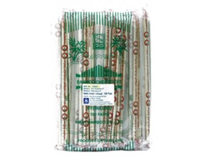 bambusove hulky jednorazove 22 5cm baleni 100ks