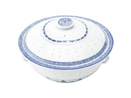 misa s poklickou z ryzoveho porcelanu 24 cm