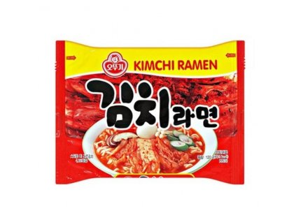 ottogi kimchi ramen korejske instantni nudle s prichuti kimchi 120g