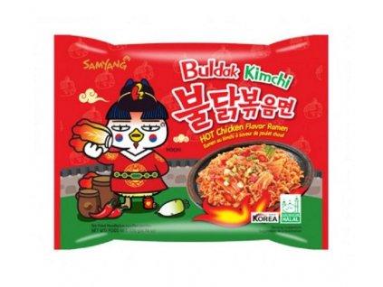 samyang instantni smazene nudle hot chicken kimchi ramen 140g