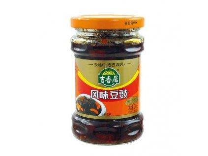 omacka z fermentovanych cernych fazoli 210g