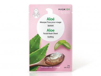 Pleťová maska Aloe MAISON DE CORÉE 23g