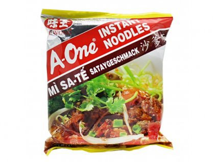 A-One instantní nudlová polévka s saté příchutí 85g