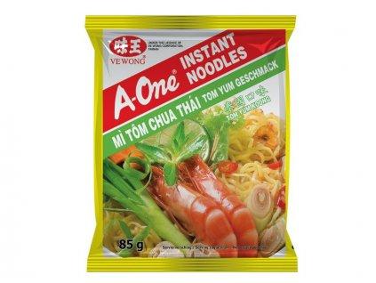 A-One instantní nudlová polévka s Tom Yum příchutí 85g