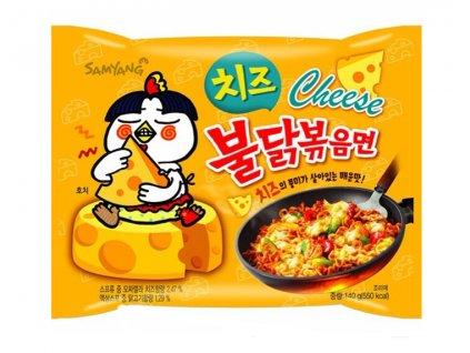 Samyang instantní nudlová polévka pálivá Hot Chicken Cheese 140g
