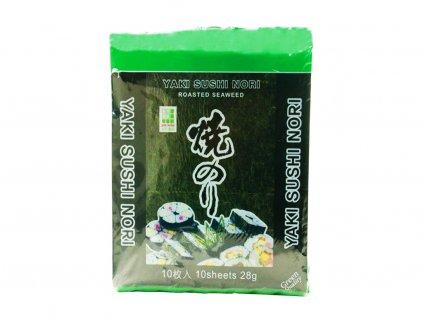 jhfoods yaki nori morske rasy green 10listu