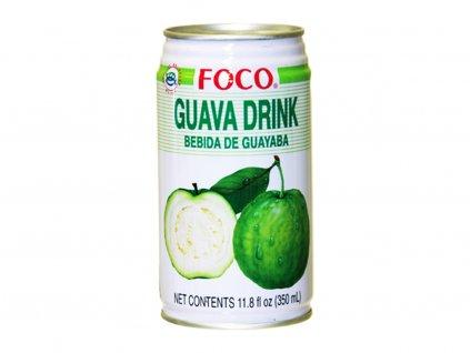 foco napoj guava 350ml