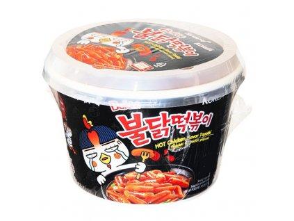 samyang big bowl topokki hot chicken palive nudle 185g
