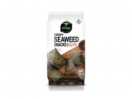 bibigo nori prazena morska rasa snack korejska bbq prichut 5g