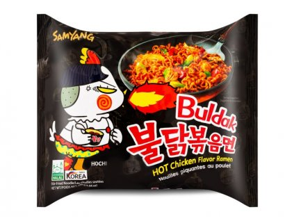 Samyang instantní smažené nudle pálivé Hot Chicken 140g