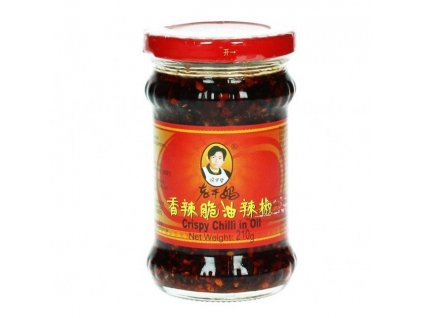 chilli olej s krupavou cibulkou lao gan ma 210g