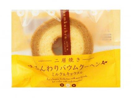 16566 taiyo food baumkuchen milk caramel 75g