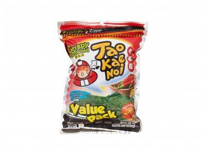TAOKAENOI chipsy z mořských řas s příchutí Hot Spicy 59.