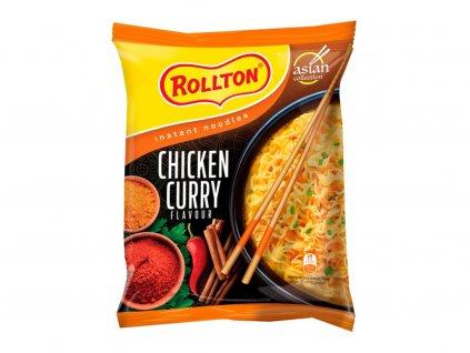 Rollton instantní nudle s kuřecím kari 65g