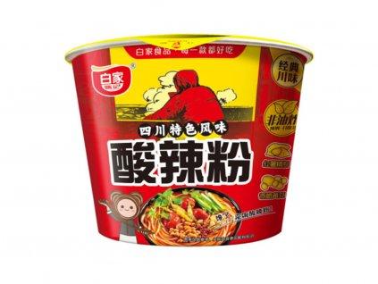 Baijia instantní skleněné nudle kyselopálivé Hot-Sour 105g